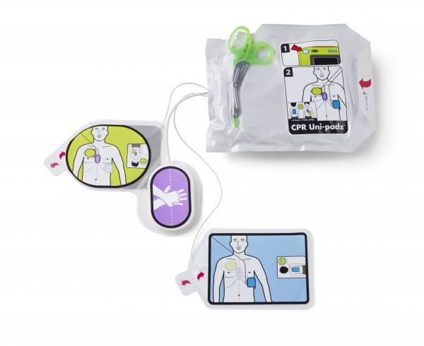AED 3 CPR Uni-padz Universal Elektrode, Erwachsene/Kinder