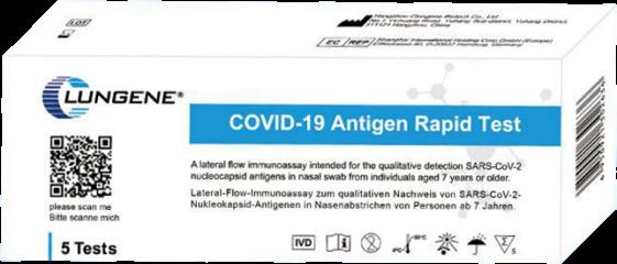Schnelltest - Nasal Laientest Clungene COVID-19 Antigen Rapid Test