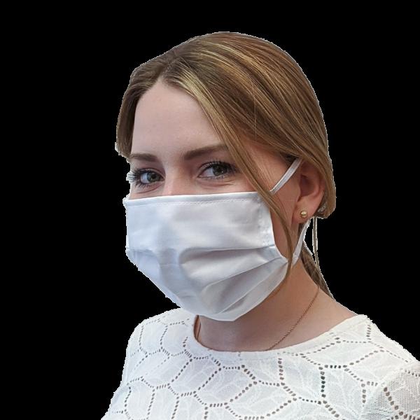 Mund-Nasen-Schutz mit Gummizug, einlagig