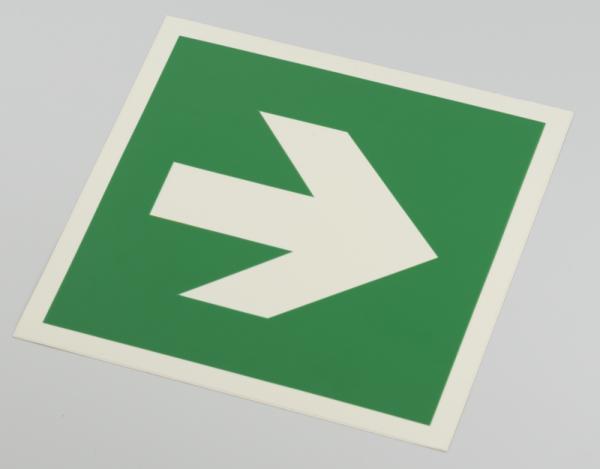 Hinweisschild Richtungsangabe links/rechts Folie (selbstklebend)