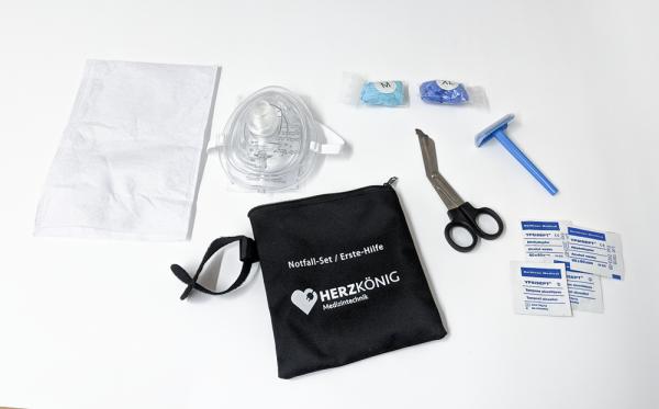 Erste-Hilfe Notfall-Set - Die ideale Ergänzung zum Defibrillator