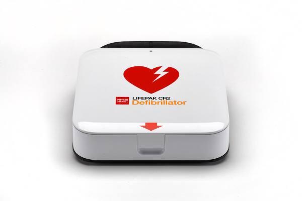 Physio Control LIFEPAK CR2, vollautomatischer AED Defibrillator
