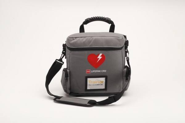 LIFEPAK CR2 Trainer-Tasche mit zusätzlichen Staufächern für Zubehör