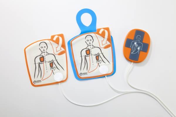 Powerheart G5 AED-Elektroden für Erwachsene mit HLW-Feedback-Sensor