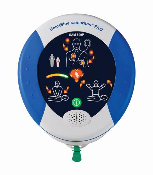 HeartSine PAD 500P samaritan®, AED Defibrillator, halbautomatisch