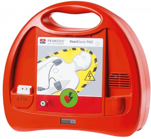 Primedic HeartSave PAD - halbautomatischer Defibrillator