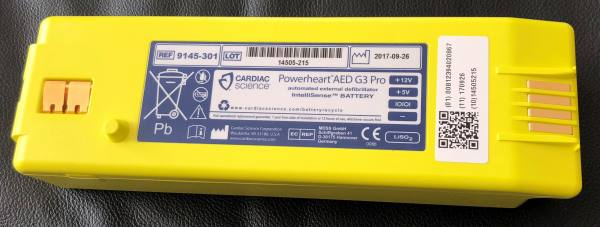 Intellisense® Batterie für Cardiac Science PowerHeart G3 PRO