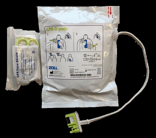 ZOLL CPR-D Elektrode mit HDM-Sensor inkl. Ersthilfekit