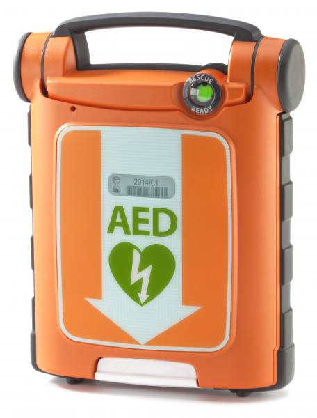 Cardiac Science Powerheart G5 Defibrillator, Vollautomat, HLW-Feedback