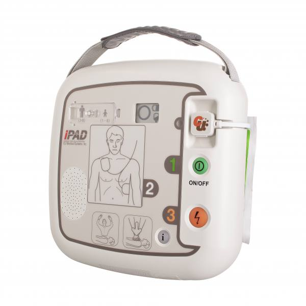 iPAD CU-SP1 semiautomatischer AED Defibrillator - CU Medical Systems