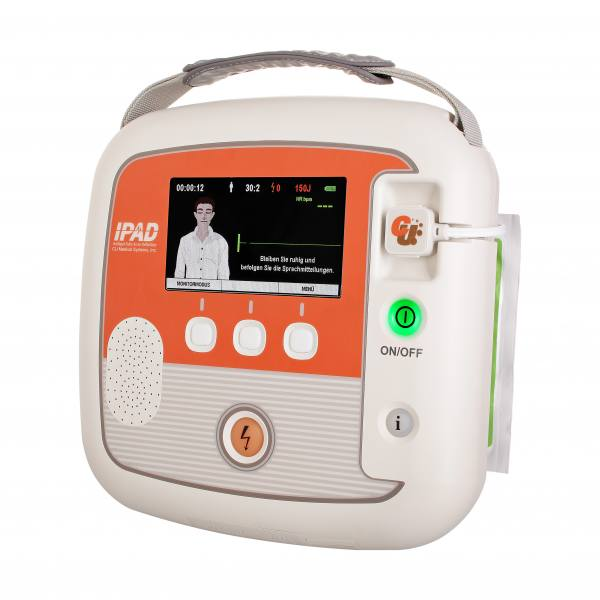 "iPAD CU-SP2 AED Defibrillator ""Jedermann"", halbautomatisch, CU Medical"