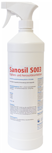 Sanosil S003 1kg Sprühflasche