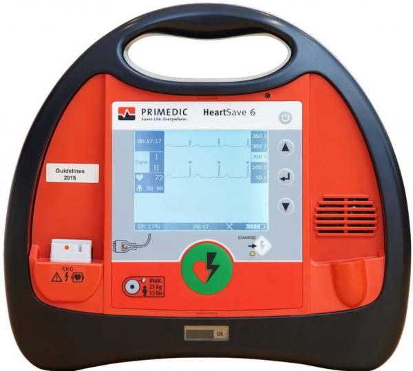 Primedic HeartSave 6 Defibrillator